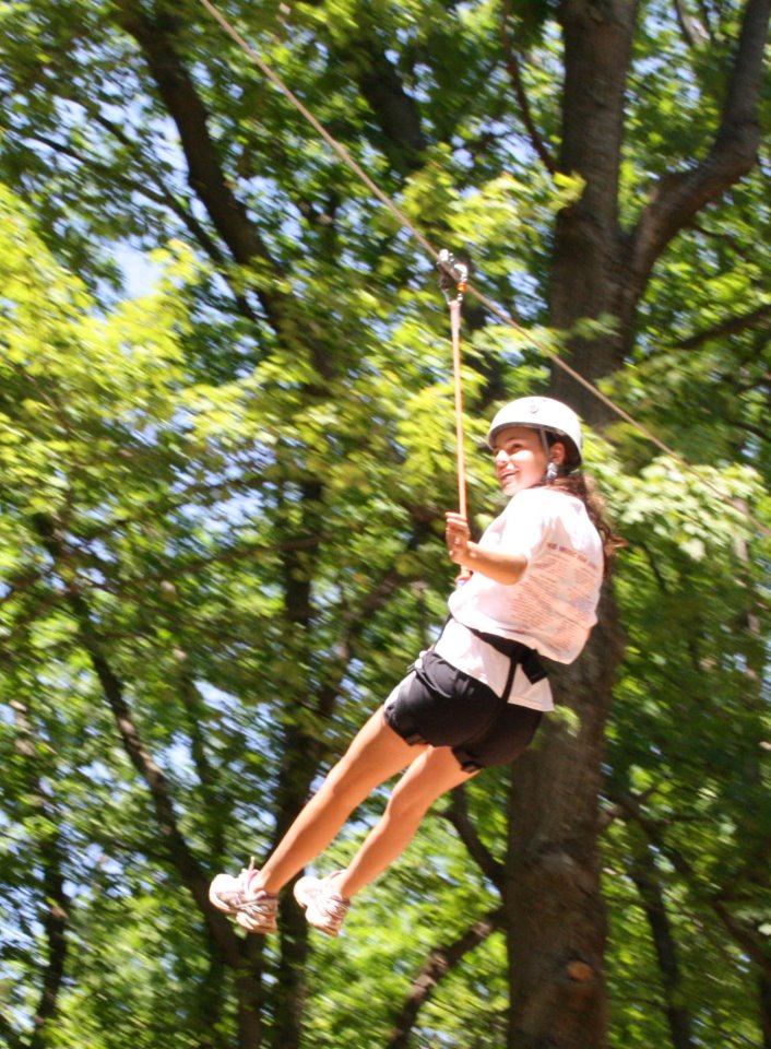 Zip Lining in Michigan